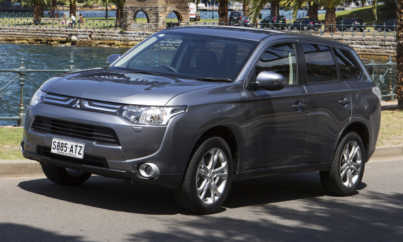 Mitsubishi Outlander On Sale In Australia High Resolution Picture