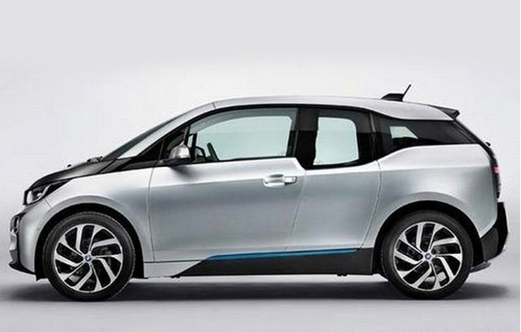 BMW i3 Electric Car Revealed In Leaked Images Free Download
