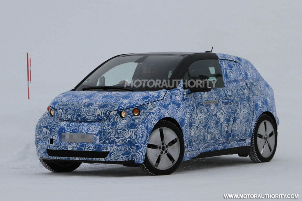 2014 BMW i3 spy shots auto expo Free Download Image Of