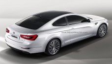 kia cadenza coupe rendering from story Wallpapers Desktop Download