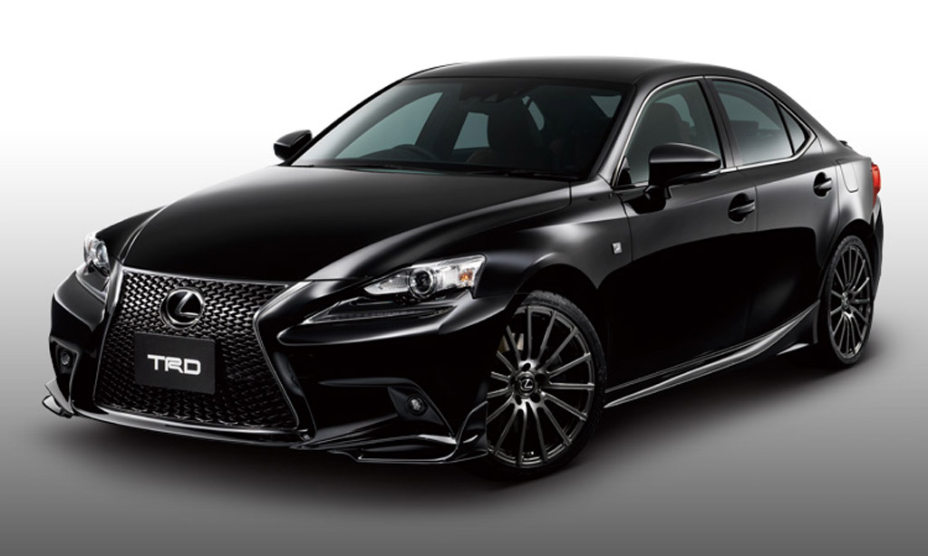 Lexus IS with TRD upgrades Wallpapers HD