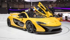 2014 McLaren P1 Motor Show High Resolution Wallpaper Free
