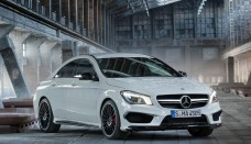 Mercedes-Benz CLA 45 AMG release Wallpapers HD