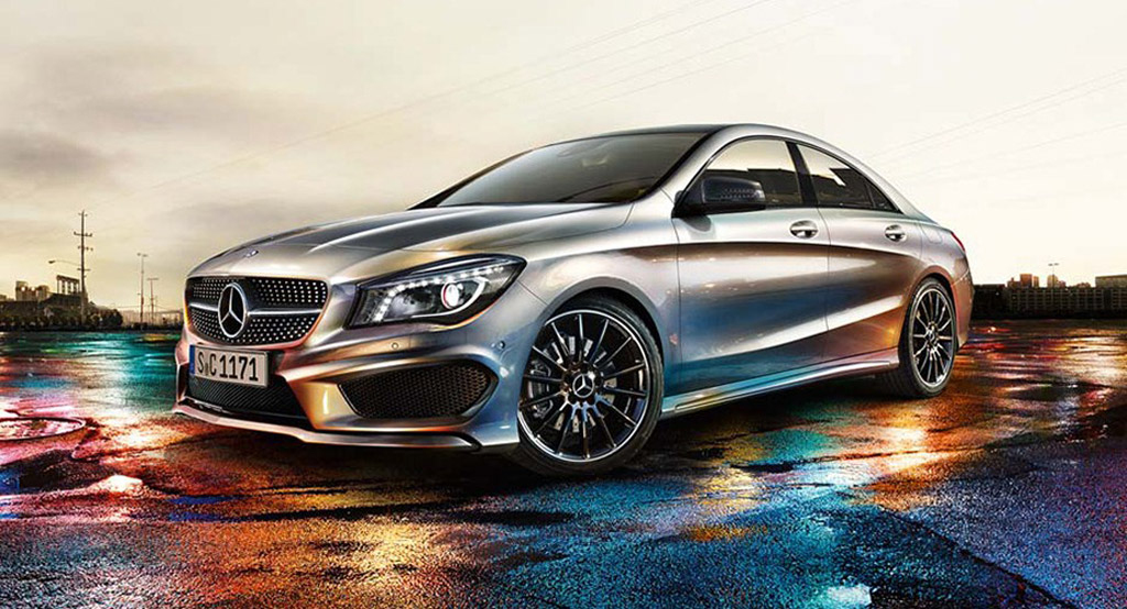 Mercedes Benz CLA Class leaked Desktop Backgrounds