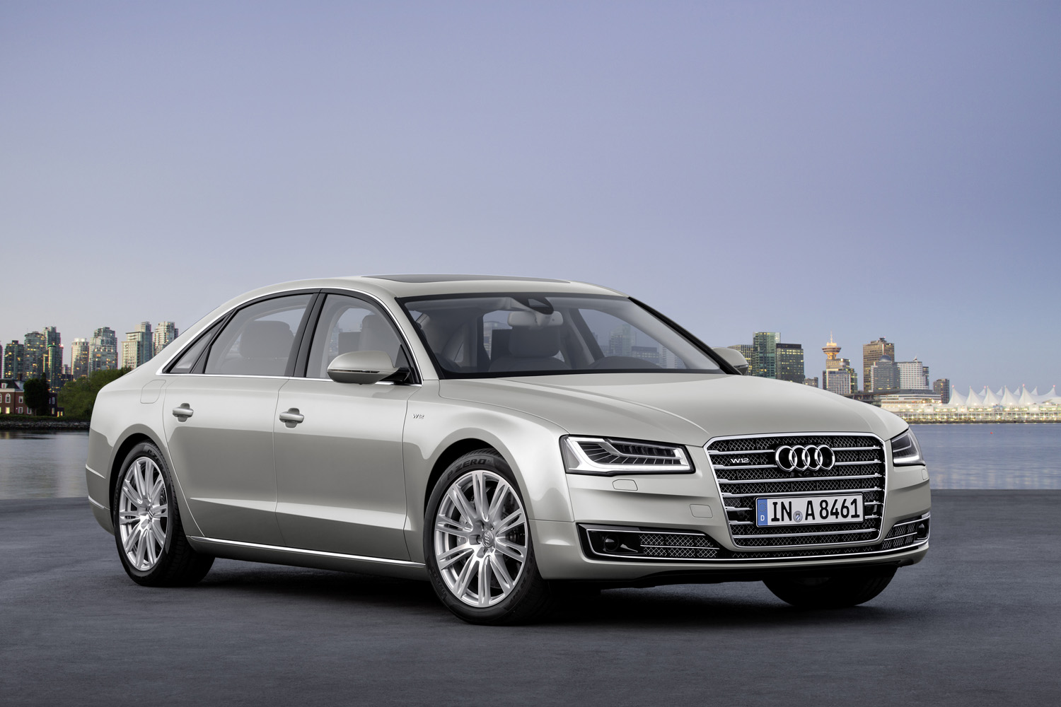 2015 Audi A8 L W12 Front Three Quarter 2  Free Download Image Of