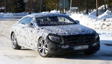 2015 Mercedes-Benz S Class Coupe Spy Video Wallpapers HD