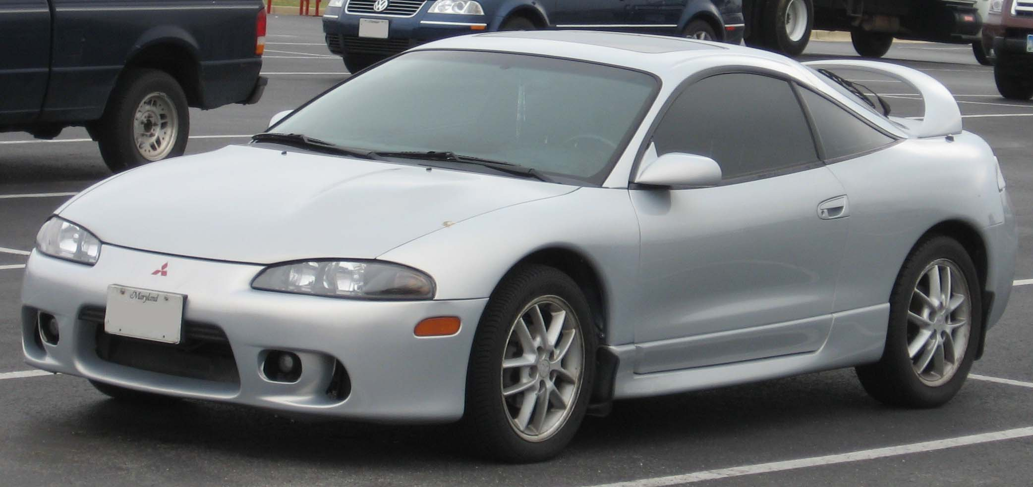 2nd Mitsubishi Eclipse Desktop Backgrounds