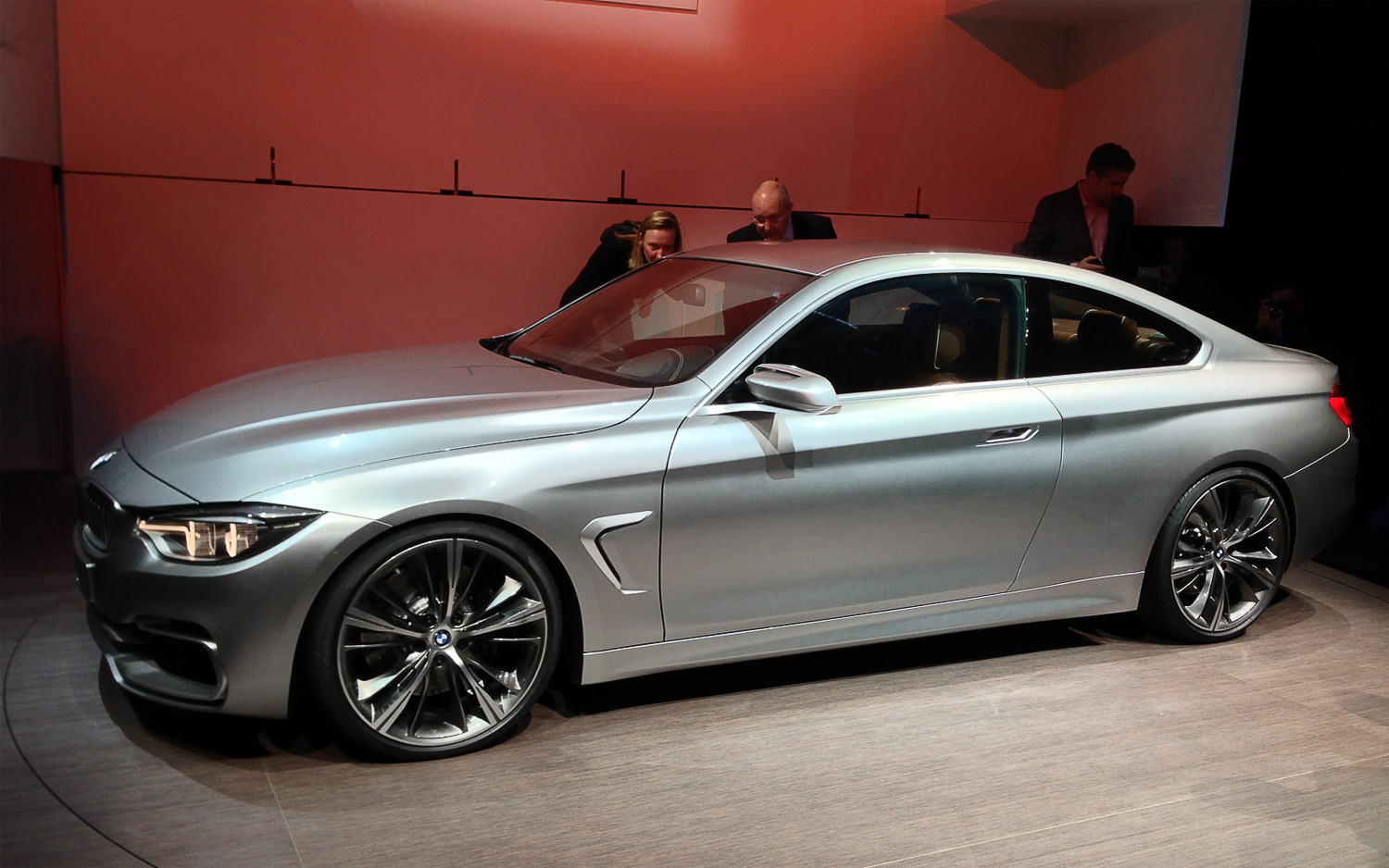All New 2014 BMW 4 Series Coupe Photo Free Download Image Of