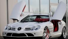 Mercedes SLR Mclaren Exterior Motor Show High Resolution Wallpaper Free