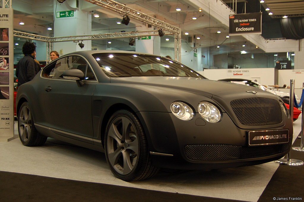 awesome looking matte black bentley continental gt Free Picture Download Image Of
