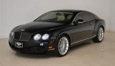 Black Sapphire Bentley Continental GT Speed High Resolution Wallpaper Free
