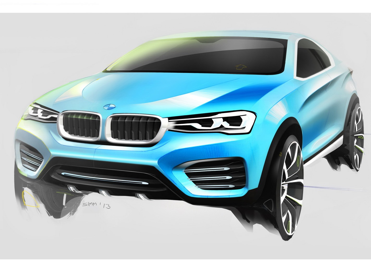 The BMW X4 Concept will be built at Plant Spartanburg in the USA Wallpaper