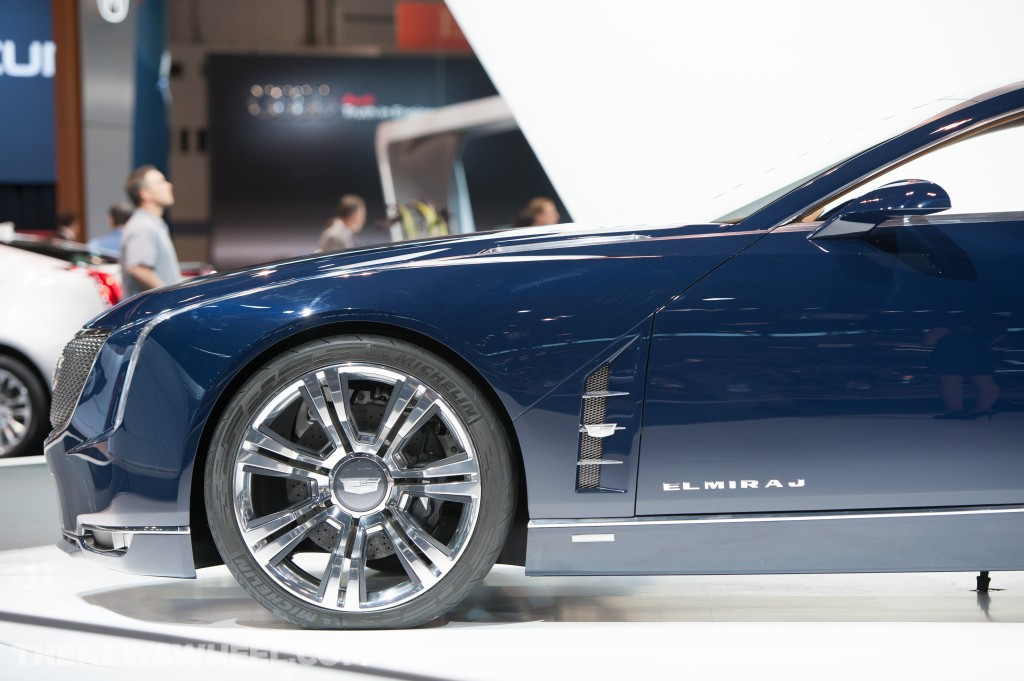 Cadillac Elmiraj at Chicago Auto Show Touts New Logo Sans Lauren Free Download Image Of