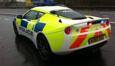 Carscoop Lotus Evora Tries Out Police Uniform in the UK Wallpapers HD