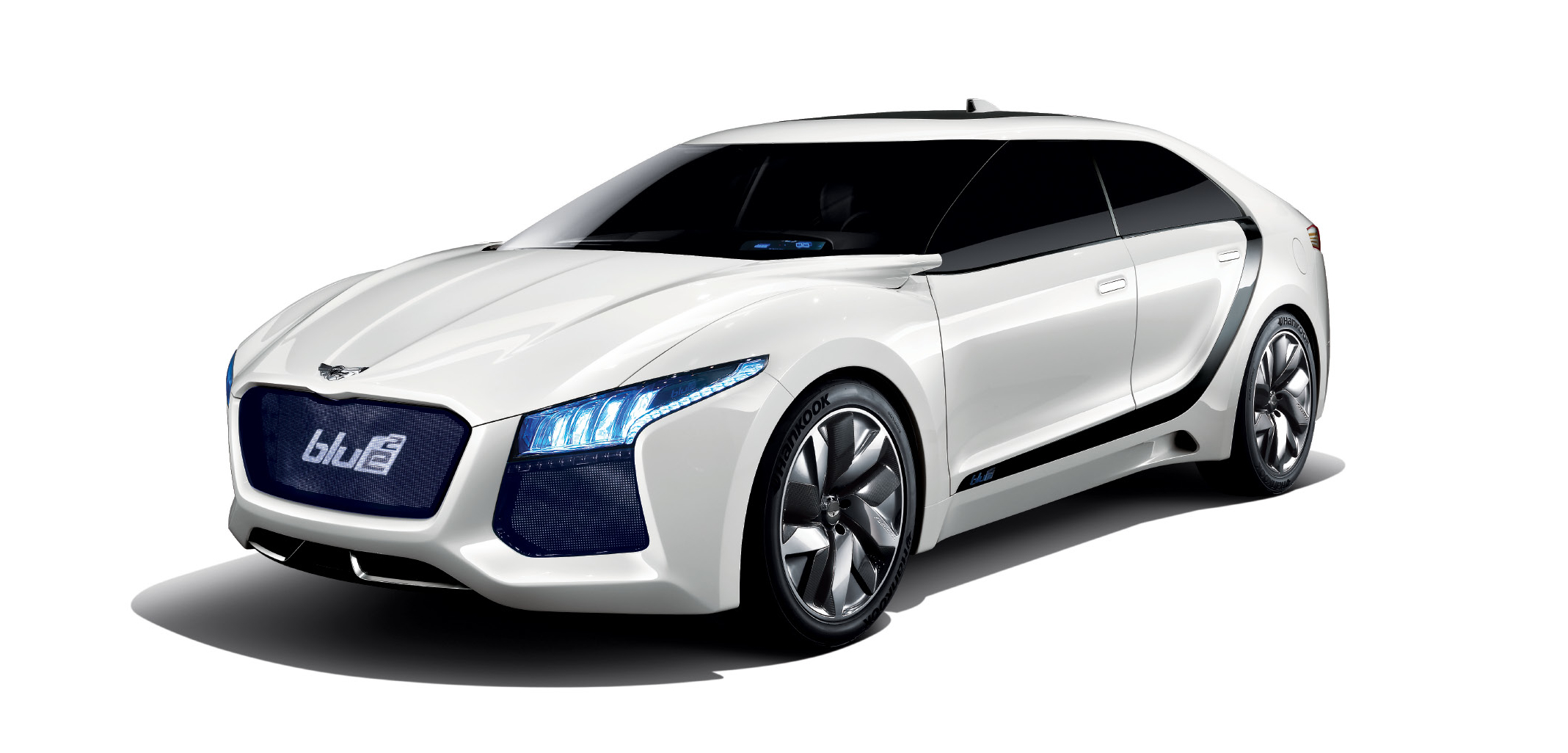Hyundai Blue Square Concept Unveils Hydrogen Fuel Cell Wallpapers Download