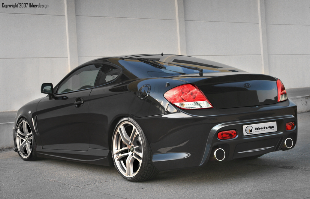 Black Color Hyundai Coupe Car Picture Gallery Uploading By Our Wallpapers HD
