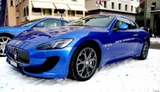 Maserati Winter Experience at St Moritz Desktop Backgrounds