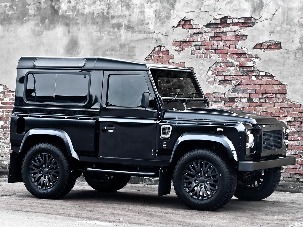 Kahn Land Rover Defender Harris Tweed Edition Desktop Backgrounds