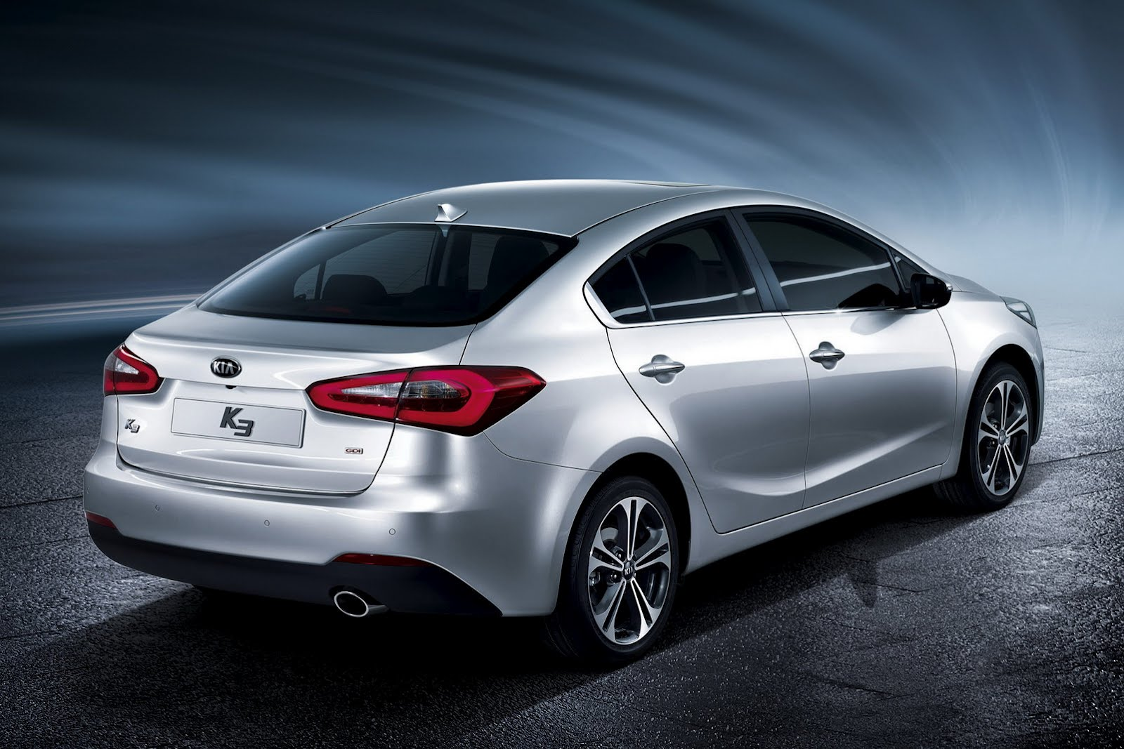 Kia K3 Cerato Forte Blows the Box Open Compact Sedan HD quality defination Wallpaper Gallery Free