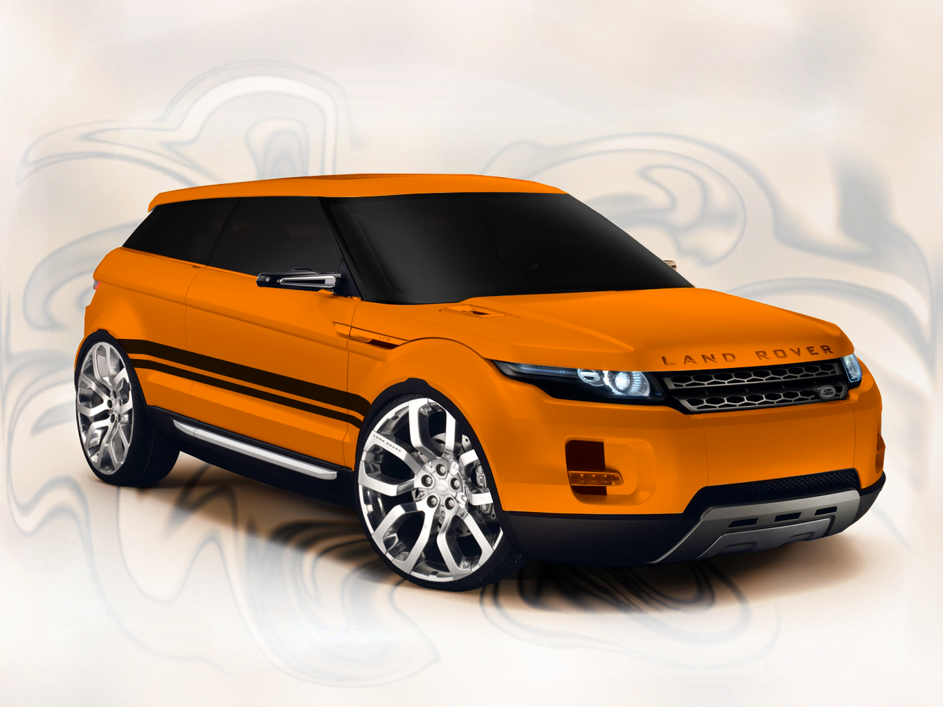 Tuning Virtual Land Rover Lrx Concept High Resolution Wallpaper Free