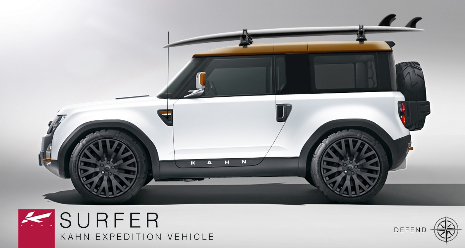 Land Rover Defender DC100 Carscoop Project Kahn Recreates Free Download Image Of
