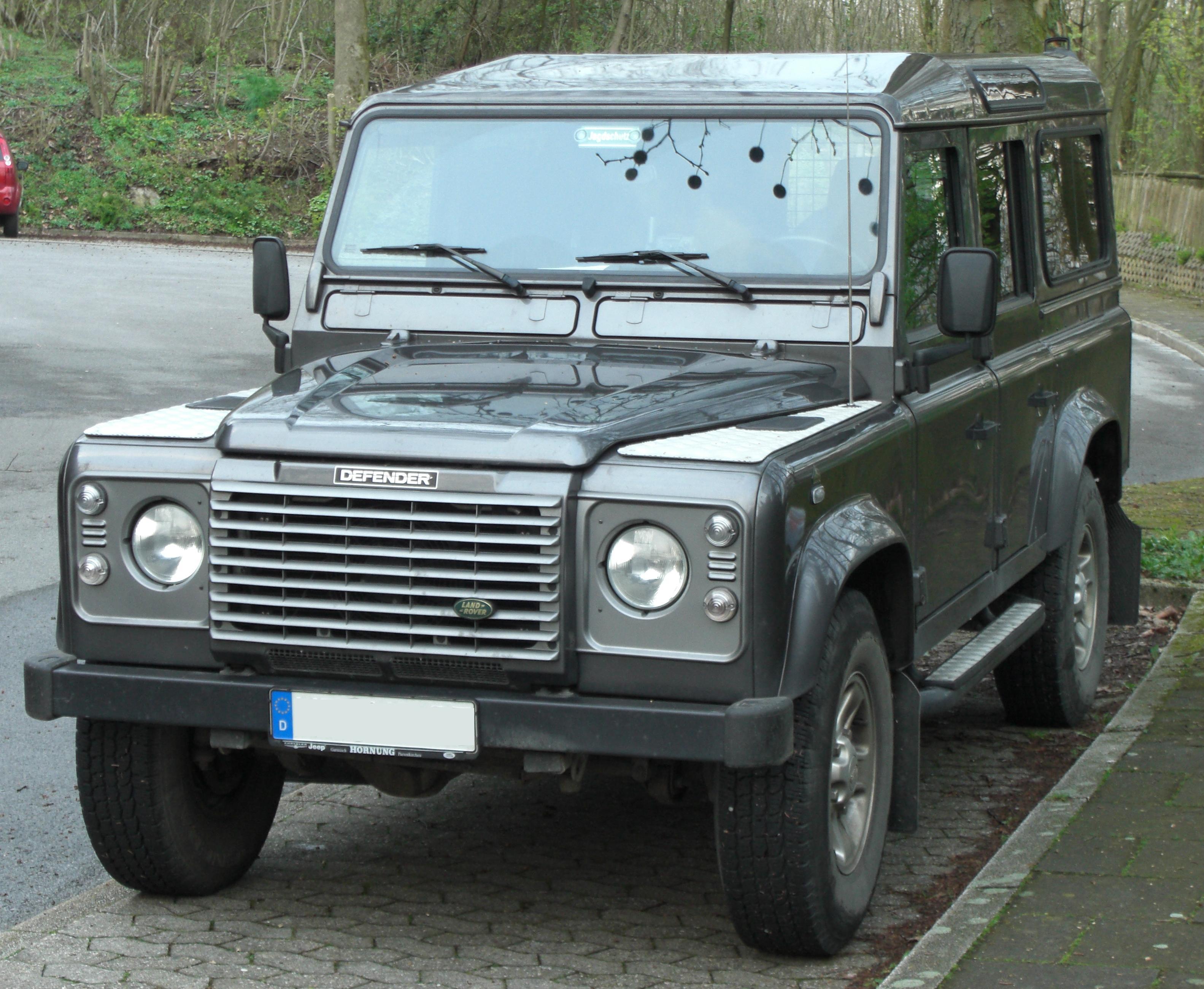 Land Rover Defender front Wallpaper Backgrounds