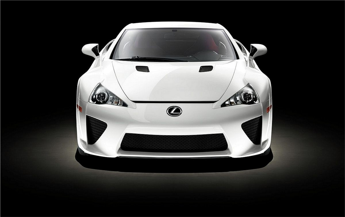 Lexus LFA 2012 supercar Auto Show Wallpapers Desktop Download