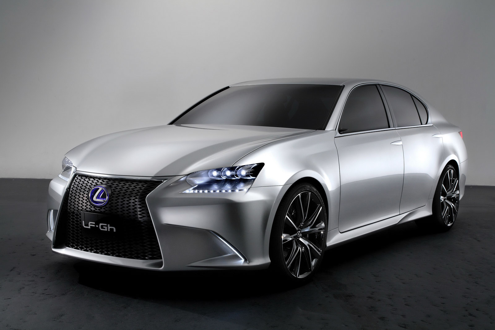 Lexus LFGh Concept hybrid sport sedan Free Download Image Of