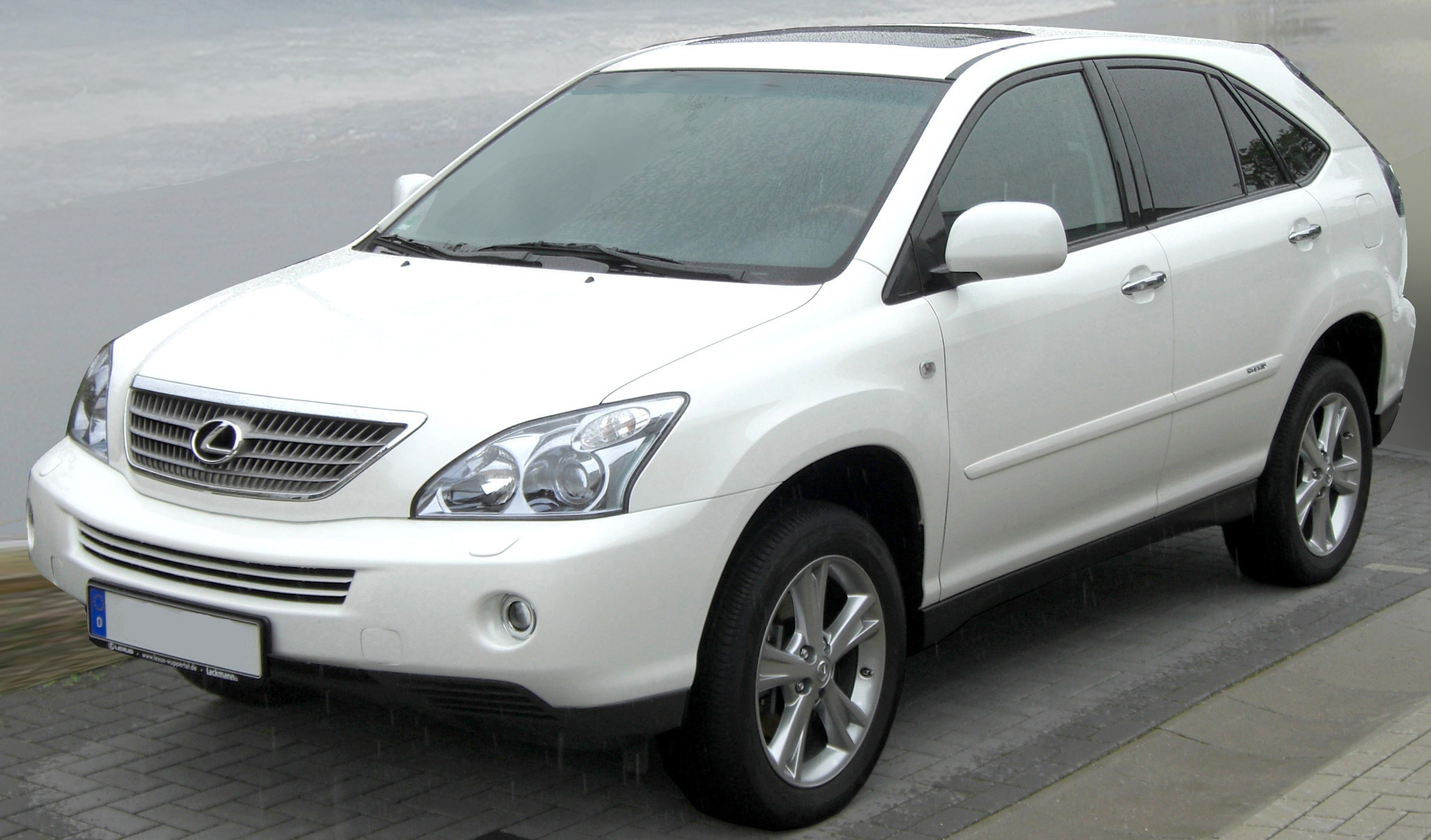 Lexus RX400h Crystal White Mica High Resolution Wallpaper Free