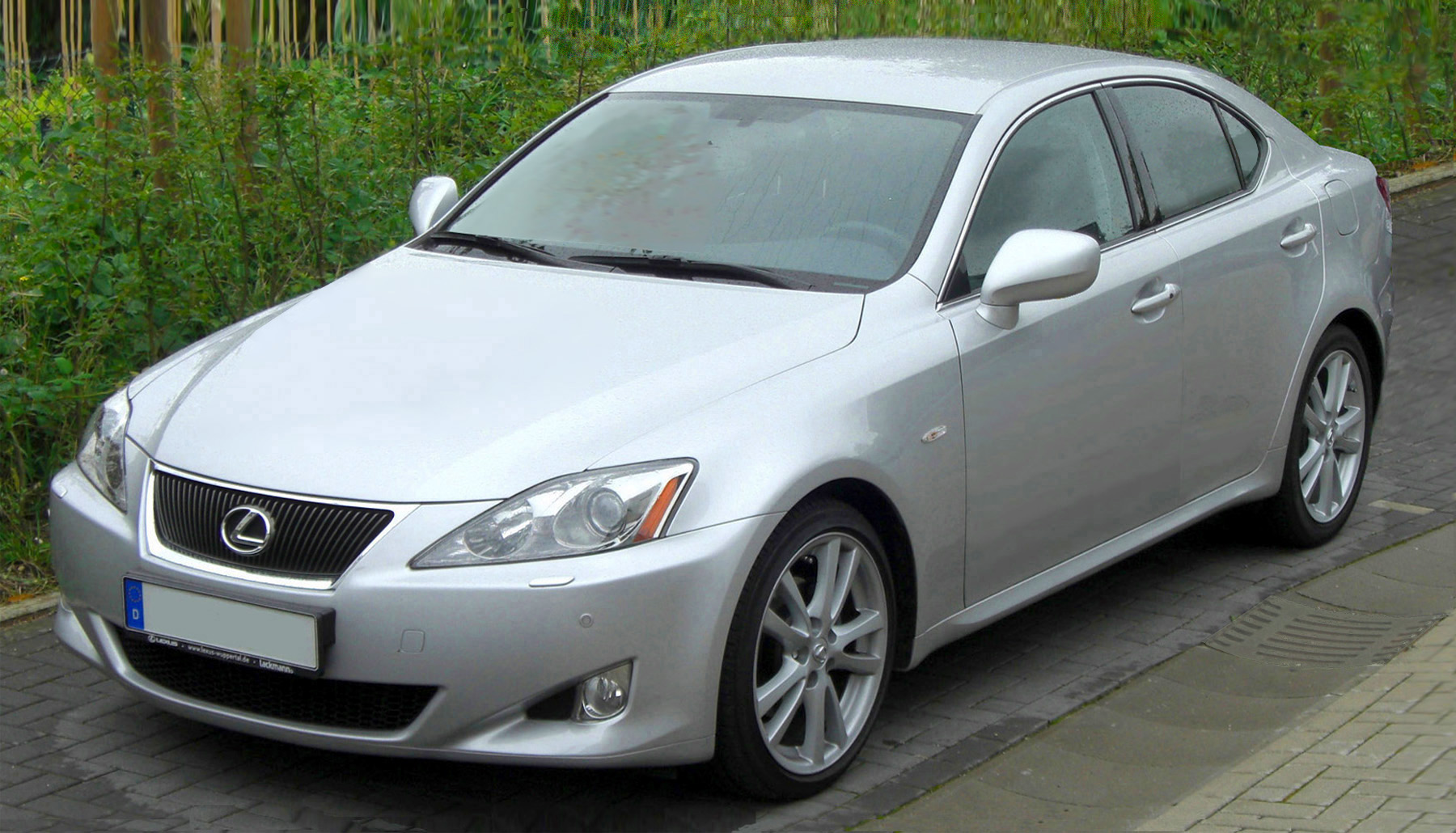 Lexus IS250 2008 Tungsten Pearl Wallpaper Backgrounds