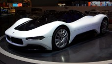 Maserati Birdcage 75th Concept High Resolution Image Wallpapers HD