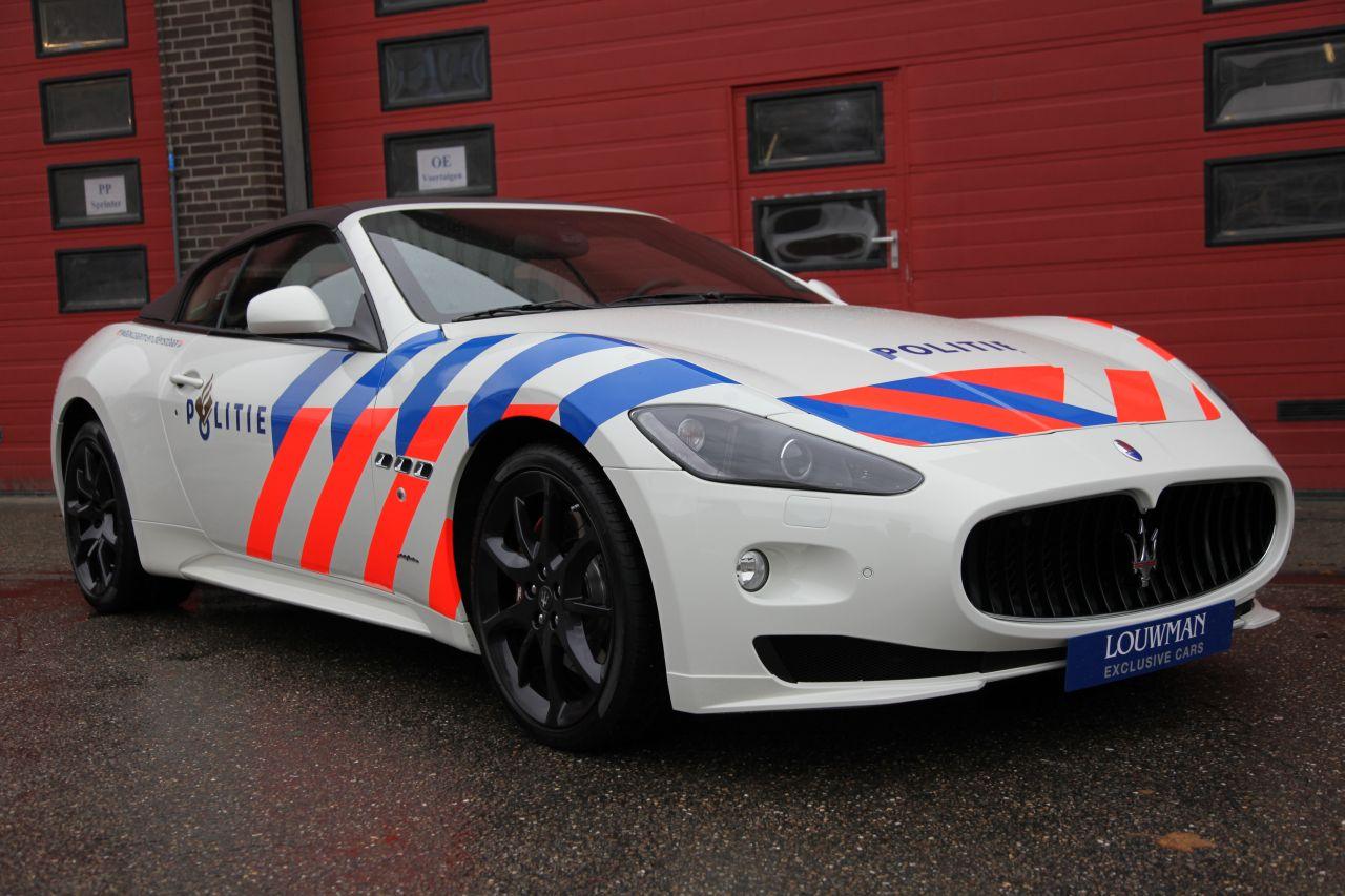 Maserati GranCabrio politie Diverse Wallpapers Desktop Download