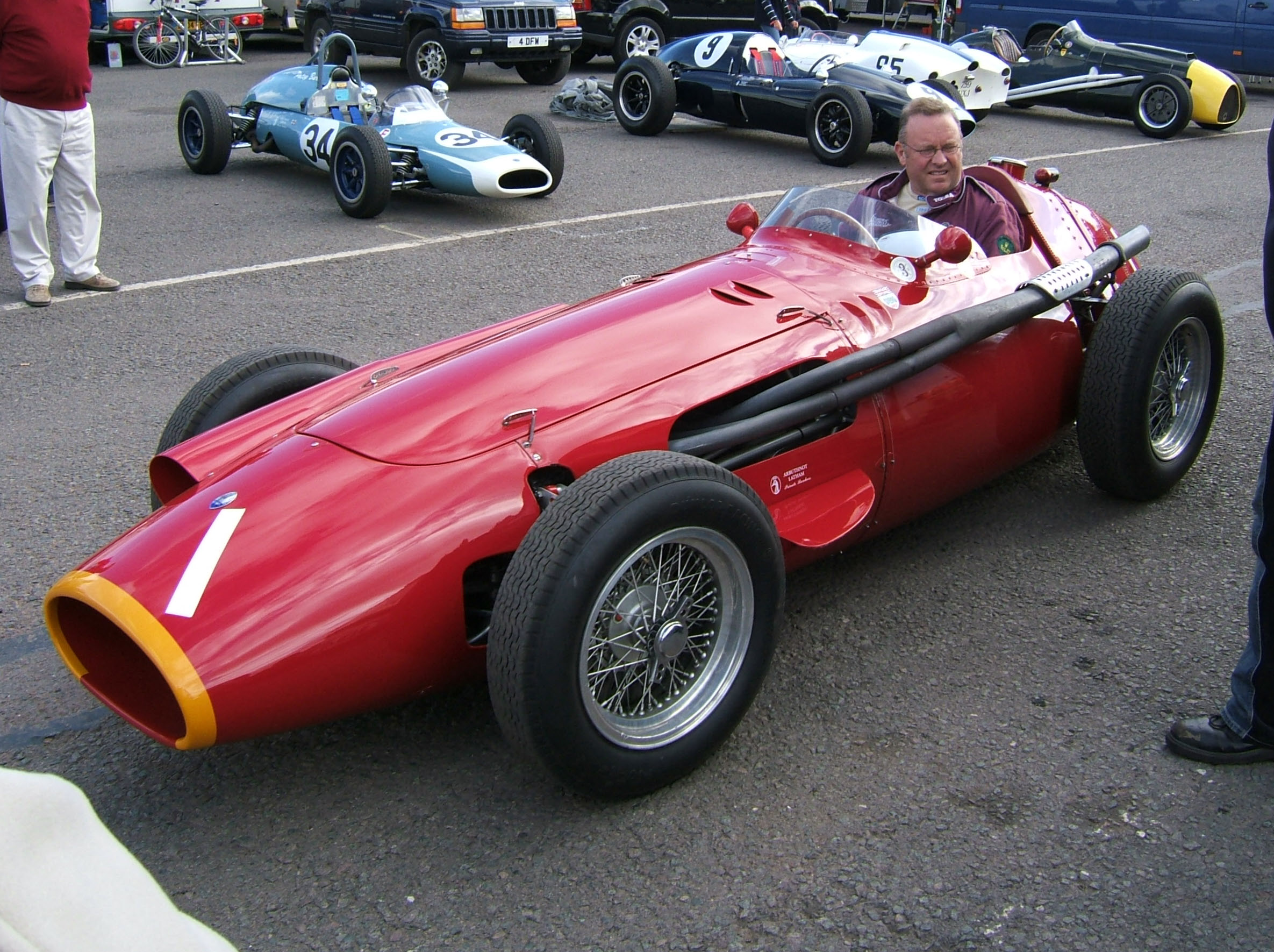 Maserati 250F Donington Pictures Photos Images Desktop Download