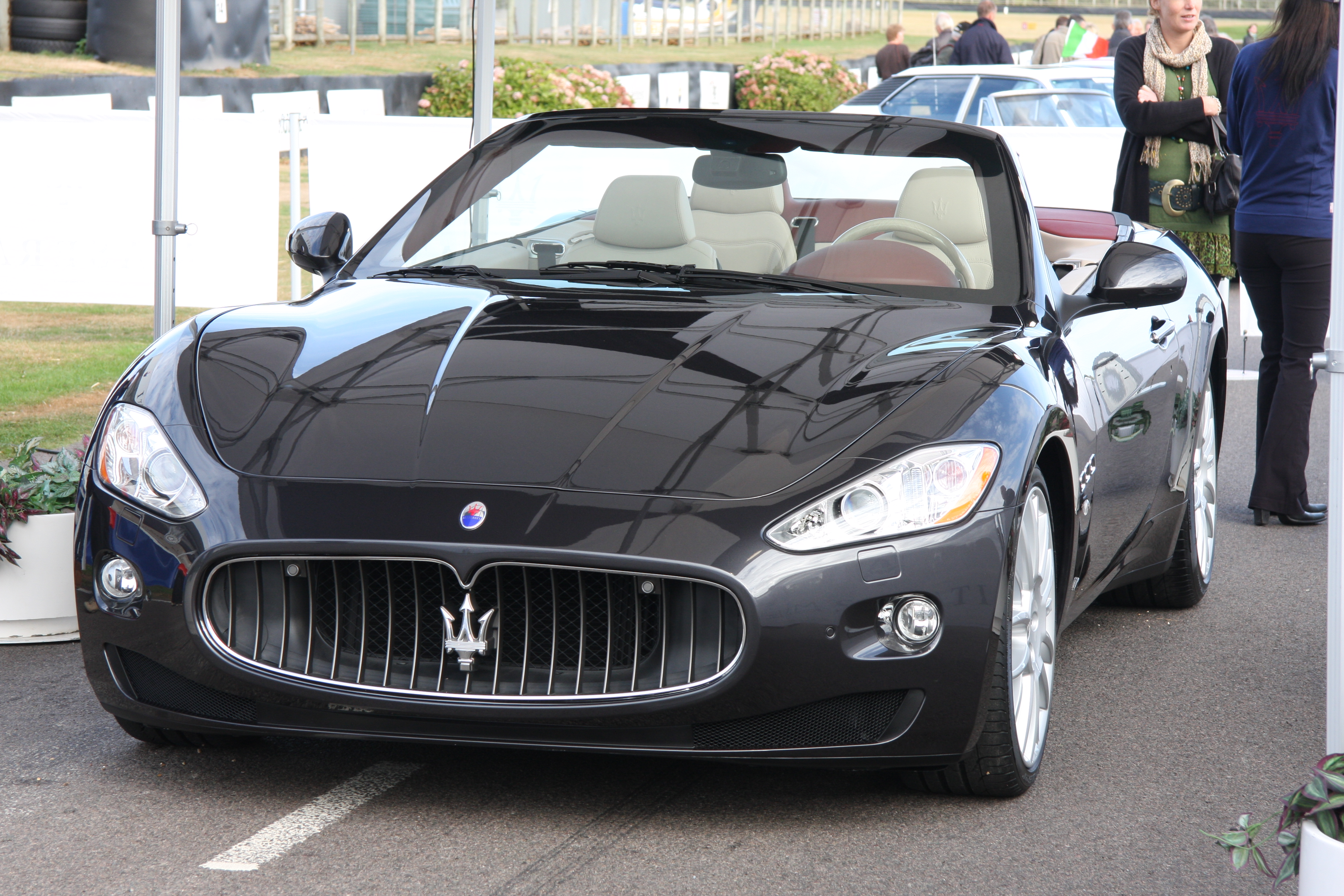 Maserati Gran Cabrio Goodwood Pictures Photos Images Desktop Download