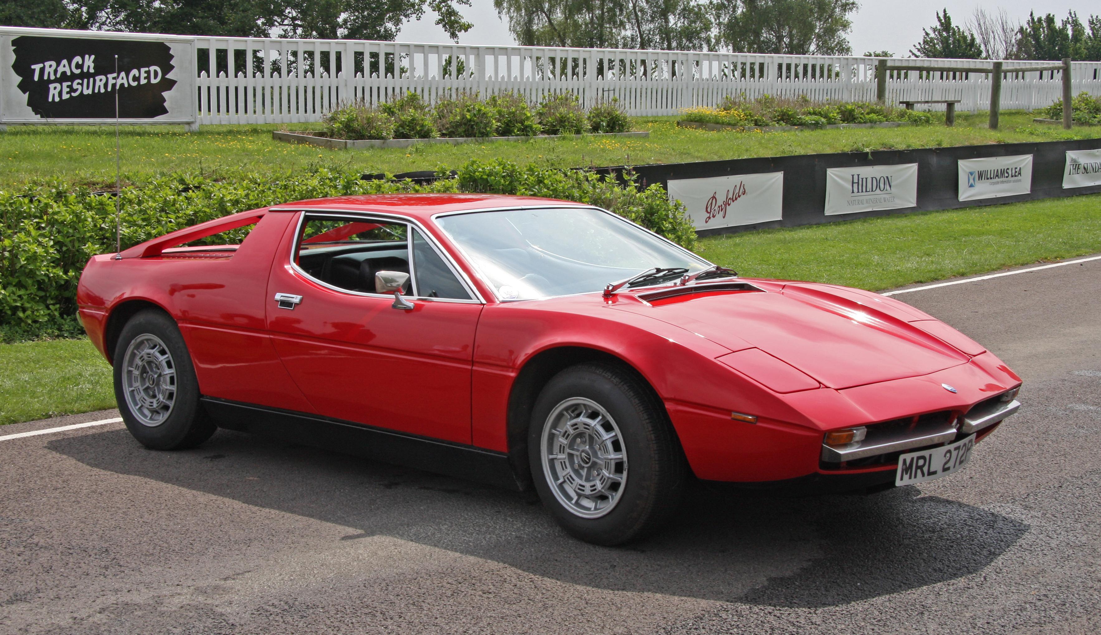 Maserati Merak red Wallpapers Desktop Download