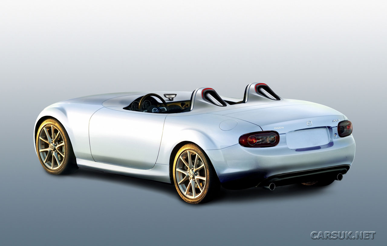 Mazda MX5 Superlight has created a stripped down Frankfurt Motor Show Wallpapers Download Wallpaper
