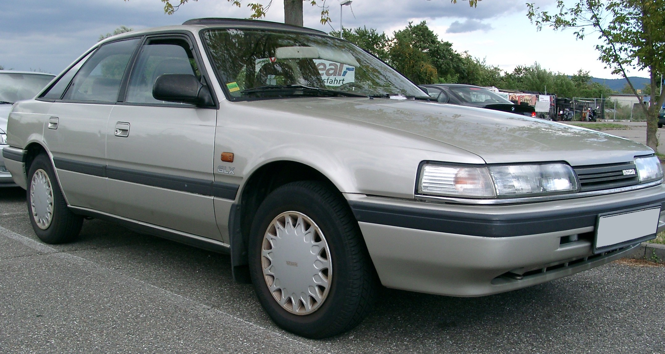 Mazda 626 front Free Download Image Of