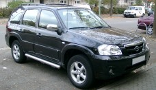 Mazda Tribute front High Resolution Wallpaper Free