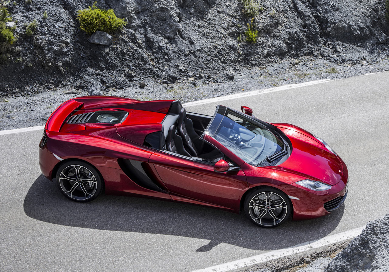 McLaren 12C Spider Concept Wallpapers Desktop Download
