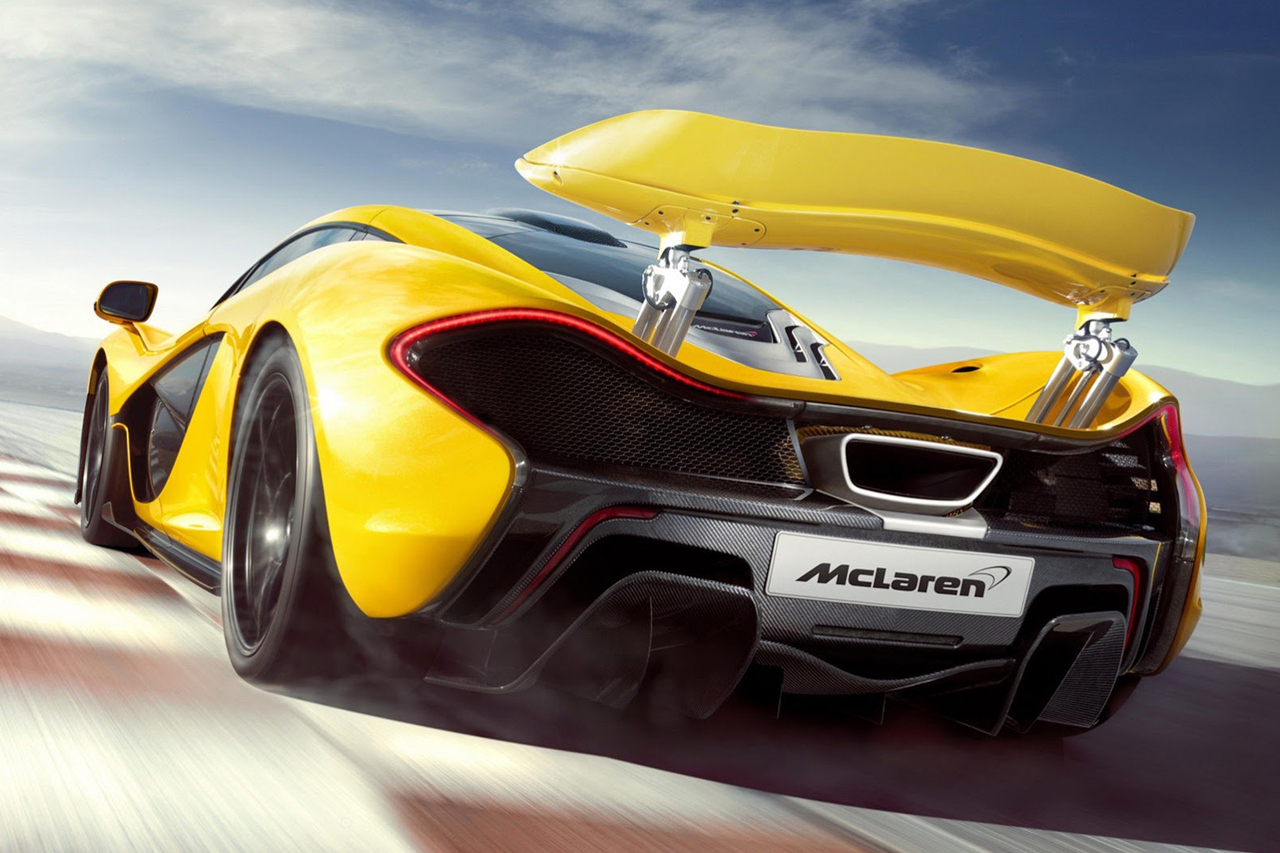McLaren P1 Fubiz™ Motor Show High Resolution Wallpaper Free