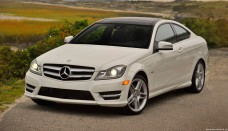 Mercedes Benz C350 Coupe usa High Resolution Wallpaper Free