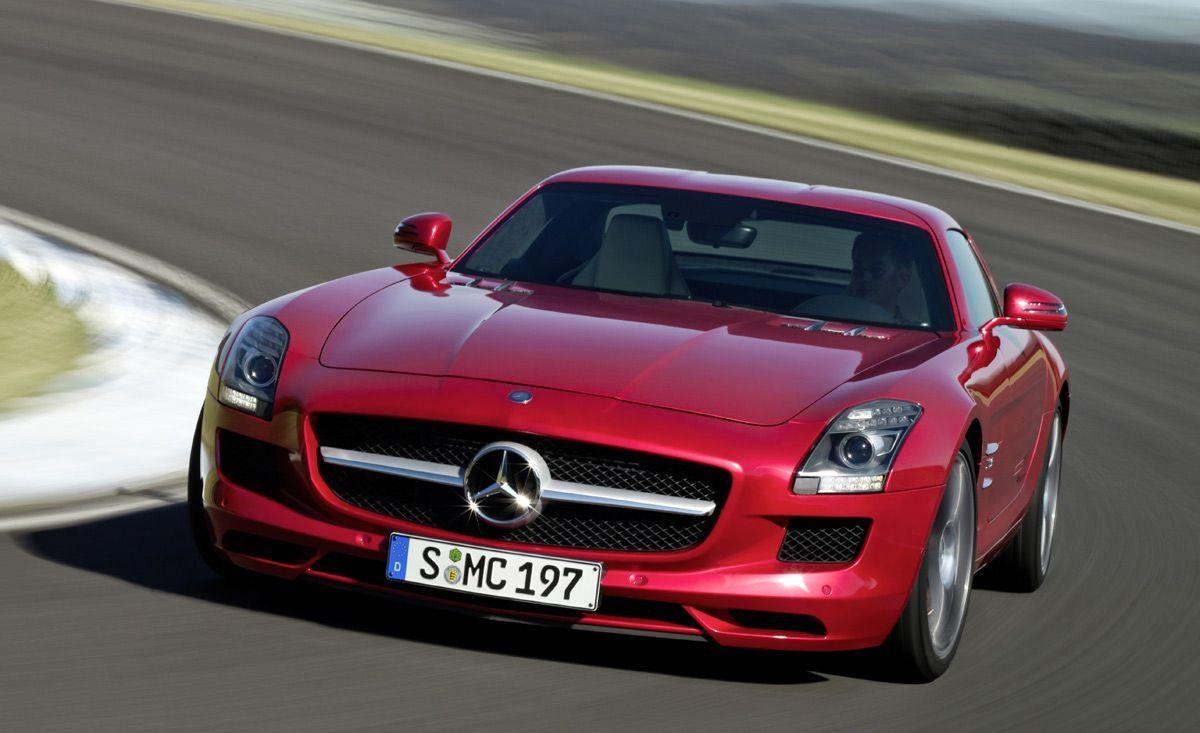 Mercedes Benz SLS AMG High Resolution Desktop Backgrounds