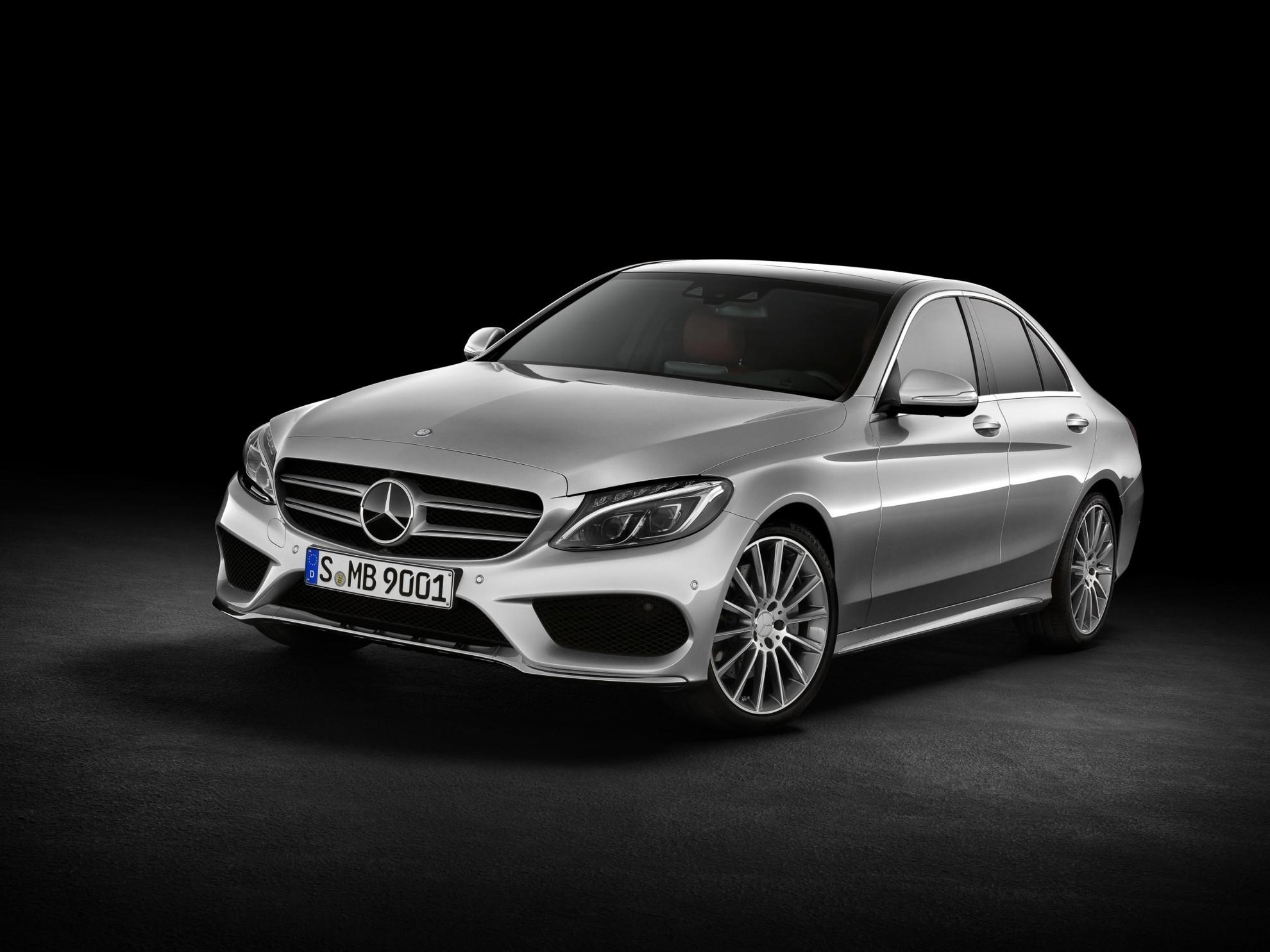 Mercedes Benz C-Class High Resolution Desktop Backgrounds