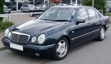 Mercedes-Benz W210 front  Free Download Image Of