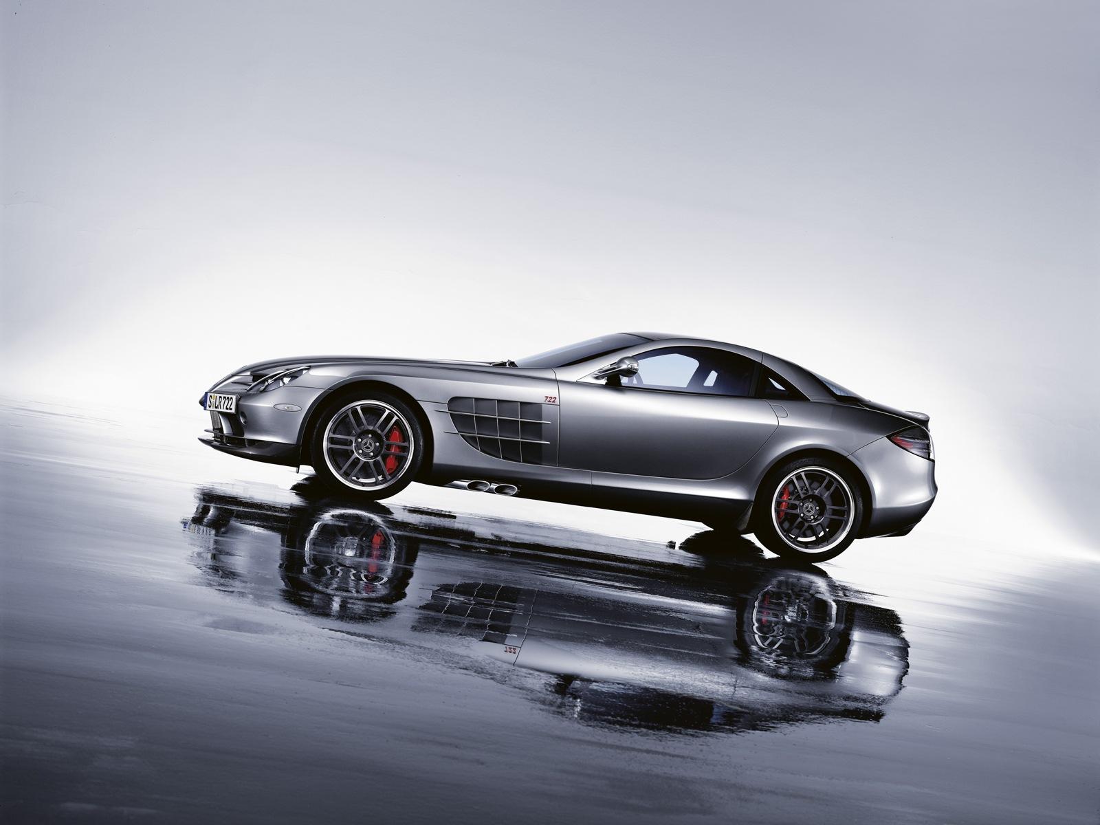 Mercedes Mclaren SLR 722 Edition Super Sports Car designed Free Download Image Of
