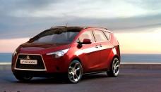 Mitsubishi Flex Design Concept Car designed Free Download Image Of