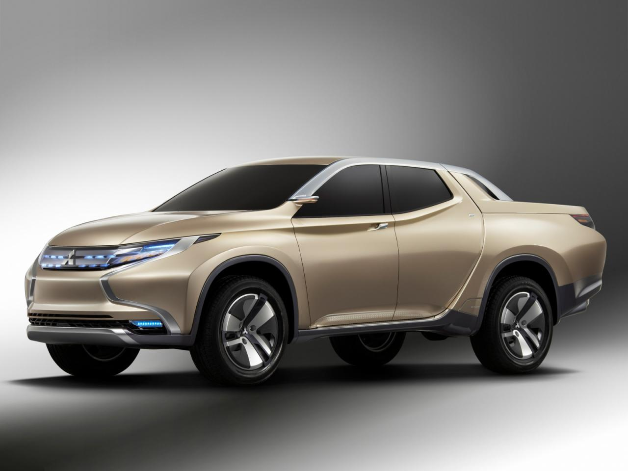 Mitsubishi Concept GR-HEV Sport Utility Hybrid Truck Edition Free Download Image Of