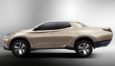 Mitsubishi Hybrid Pickup truck GR-HEV Concept gets freaky High Resolution Picture