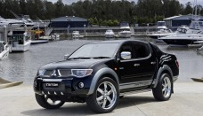 Black Metallic Color Mitsubishi Triton car images Wallpapers HD