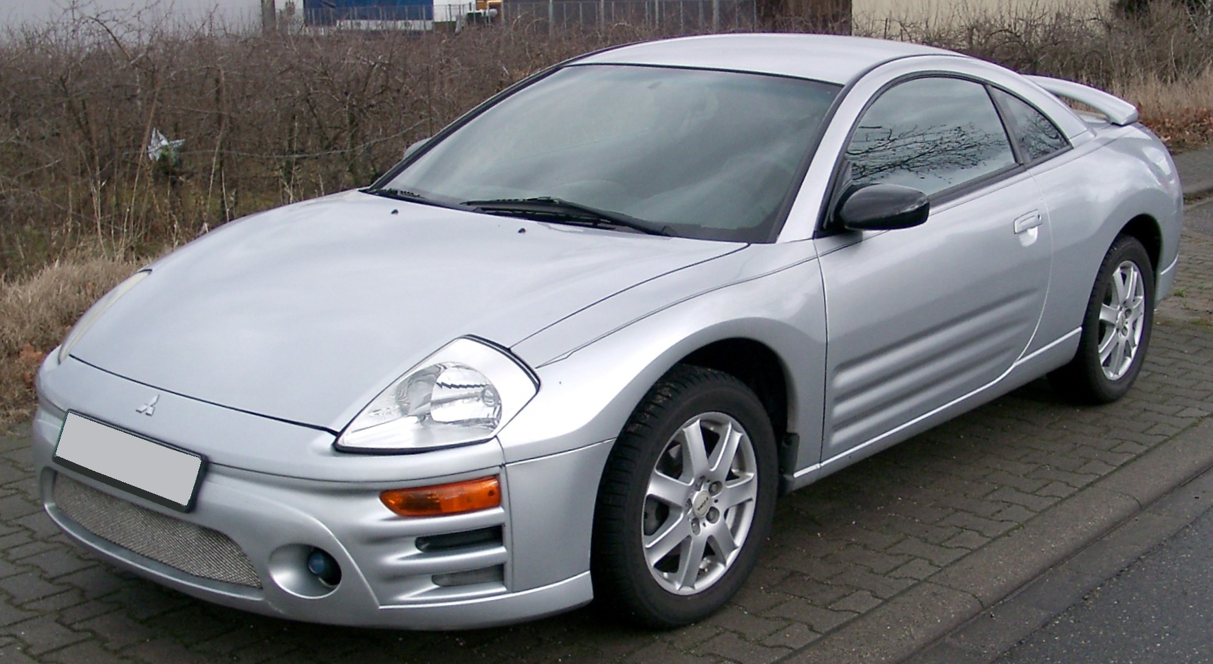 Mitsubishi Eclipse front Wallpapers Download